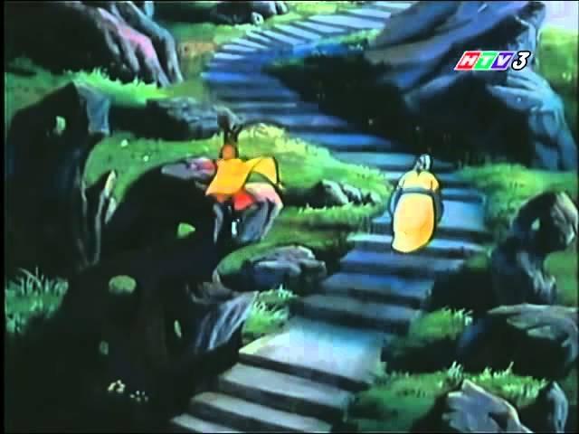 Một cảnh trong phim hoạt hình Ngộ Không trừ yêu