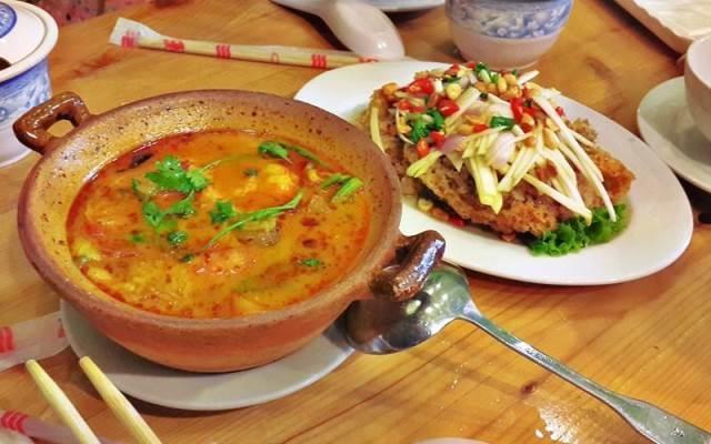 Món ăn Thái đúng chuẩn ở Ngò Rí