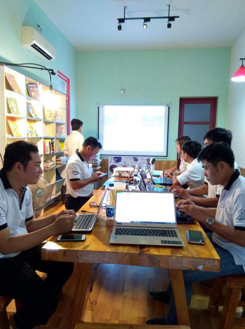 Ngọc Tước còn là nơi diễn ra các cuộc họp, workshop mini