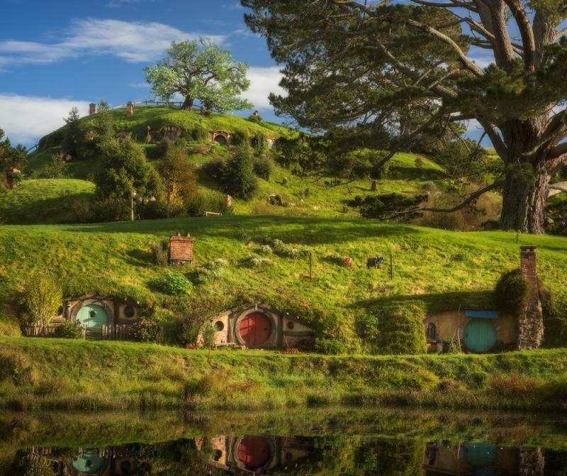 Ngôi làng cổ tích Hobbiton, New Zealand