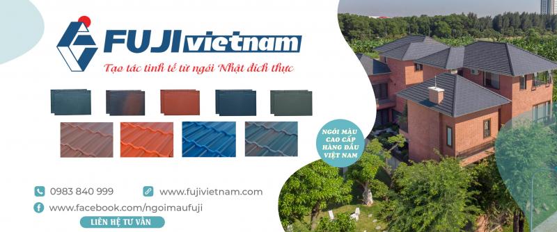 Ngói màu cao cấp Fuji là sản phẩm liên doanh Việt Nam – Nhật Bản