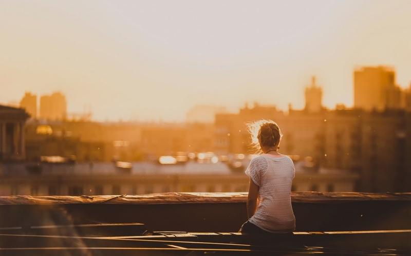 Bạn thích một mình, luôn thích ngồi một mình