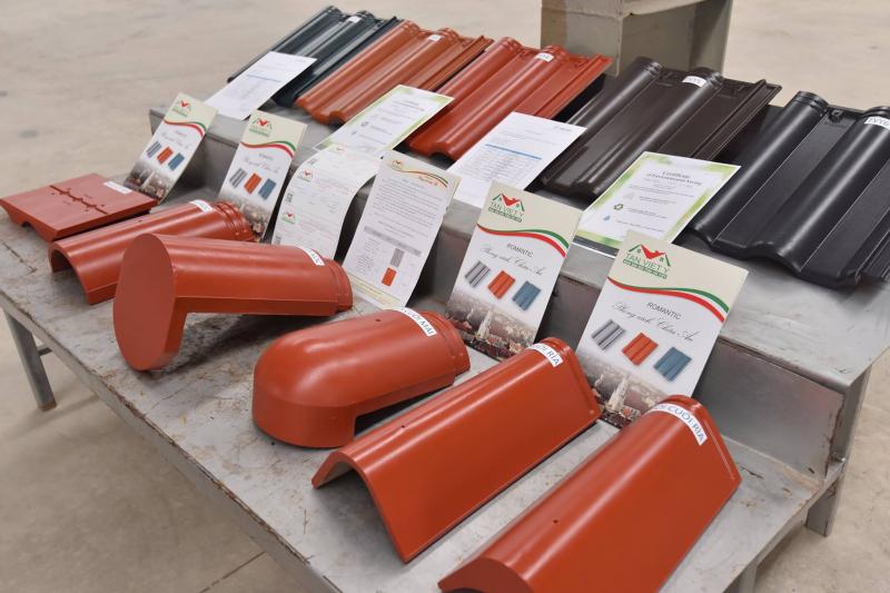 Các sản phẩm ngói của Tân Việt Ý