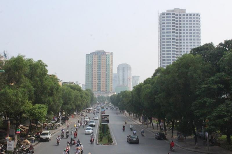 Nguyễn Chí Thanh - con đường đẹp nhất của Hà Nội