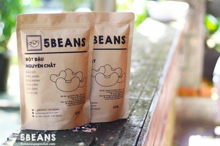 Bột đậu nguyên chất 5Beans
