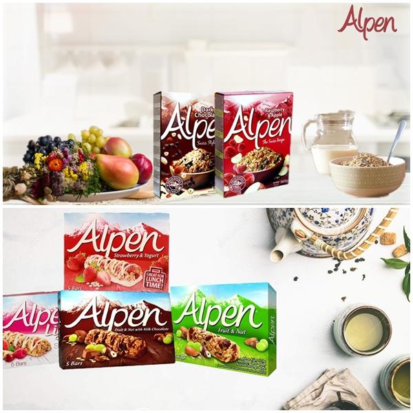 Ngũ cốc Alpen