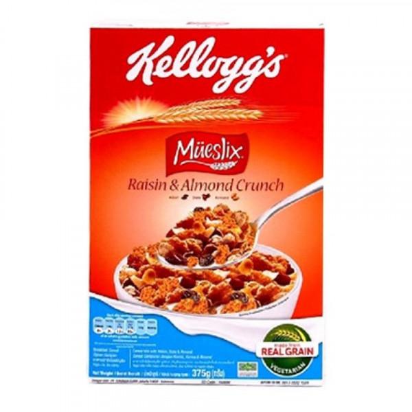 Ngũ cốc ăn sáng Kellogg's Mueslix Raisin & Almond Crunch