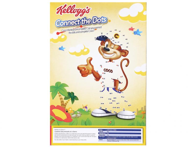 Ngũ cốc Kellogg's Coco Chex vị socola hộp 170g