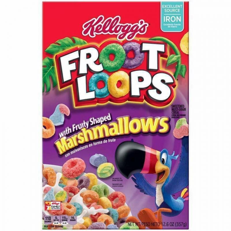 Ngũ cốc Kellogg's Froot Loops