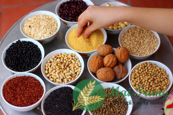 Nguyên liệu tinh chế kỹ càng của ngũ cốc Mai Trang