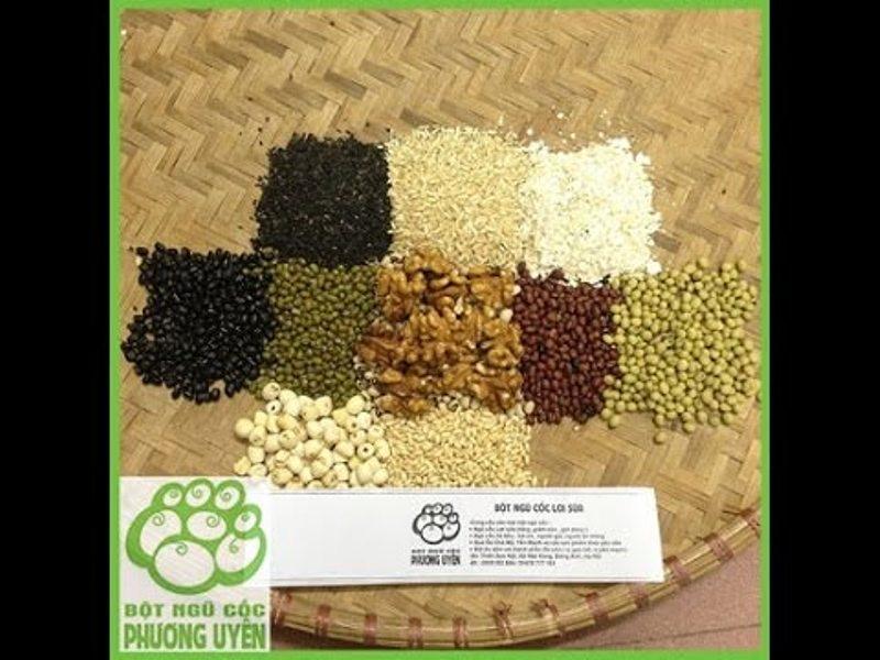 Thành phần trong bột ngũ cốc tăng cân Phương Uyên