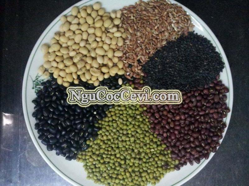 Nguyên liệu ngũ cốc trẻ em Cevi