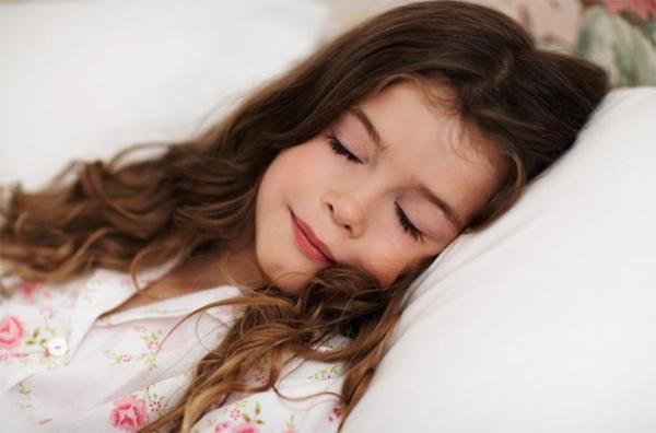Trẻ ngủ ngon giấc