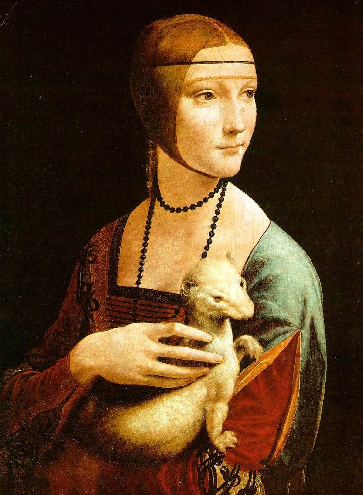 Lady with an Ermine (1489-1490)