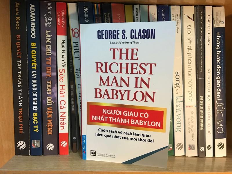 Bìa sách Người Giàu Có Nhất Thành Babylon.