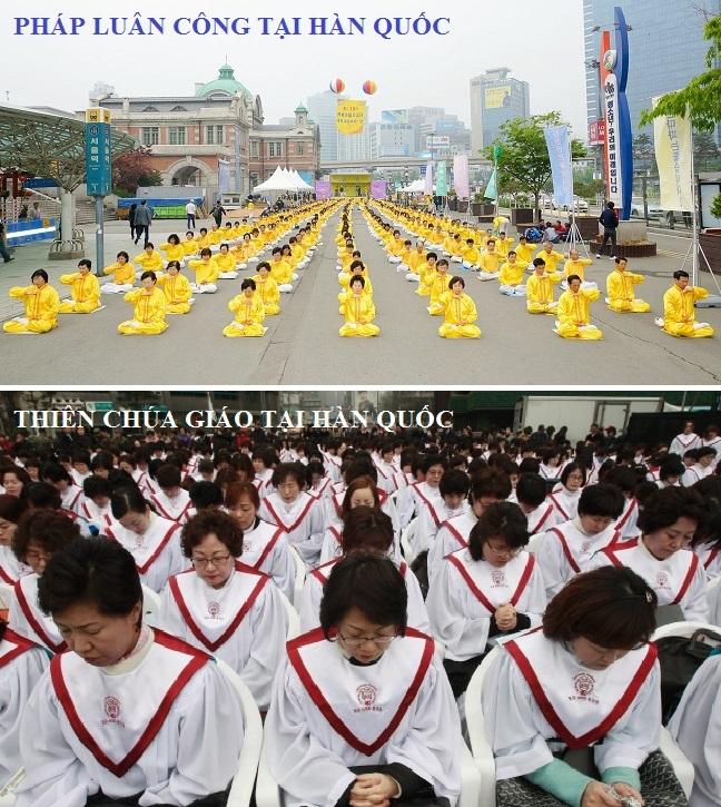 Pháp Luân Công và Thiên Chúa Giáo tại Hàn Quốc