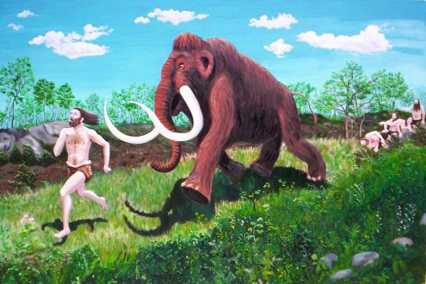 Kỳ thực, việc săn voi ma mút khổng lồ hoàn toàn không phải là một điều