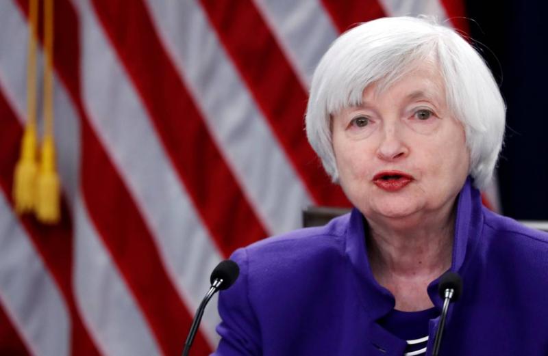 Bà Janet Yellen - Chủ tịch Cục Dự Trữ Liên bang Mỹ (FED)