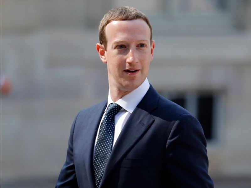 Ông Mark Zukerberg – Giám đốc điều hành Facebook