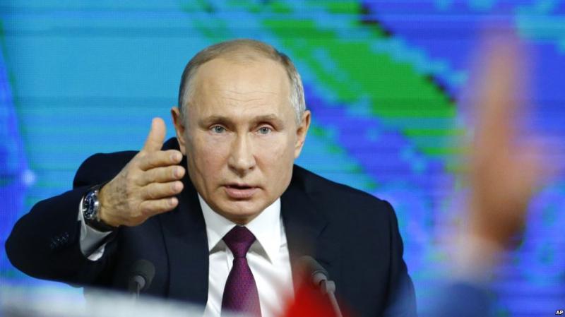 Ông Vladimir Putin - Tổng thống Nga