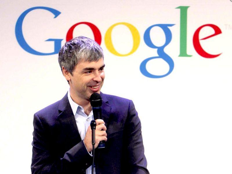 Ông Larry Page – Tổng giám đốc Google