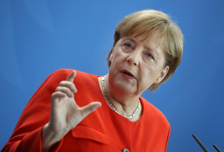 Bà Angela Merkel  - Thủ tướng Đức