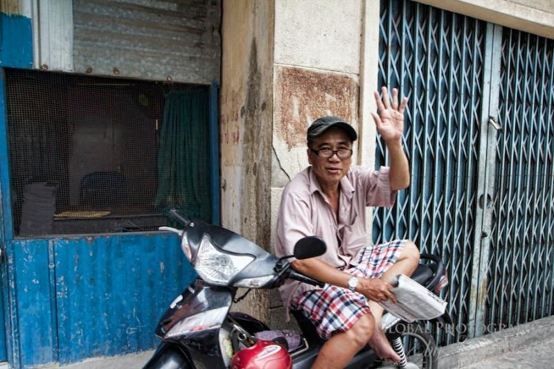Người Sài Gòn vô cùng thân thiện