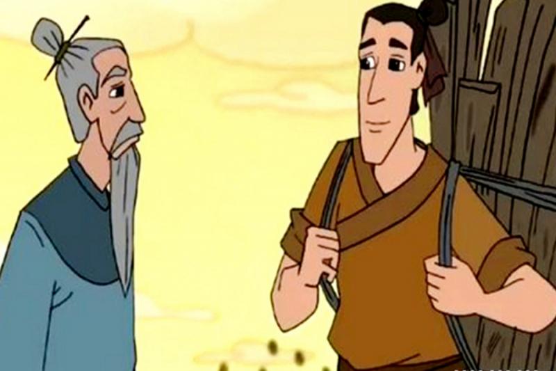 Người tiều phu và học giả