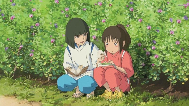 Haku là người luôn ở bên quan tâm, chăm sóc và an ủi cô bé trong suốt thời gian cô tìm cách trở về nhà.