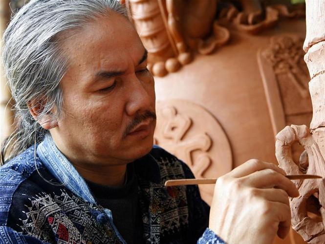 Nguyễn Đăng Vông được biết đến với sự vực dậy gốm cổ Luy Lâu ở Thuận Thành - Bắc Ninh