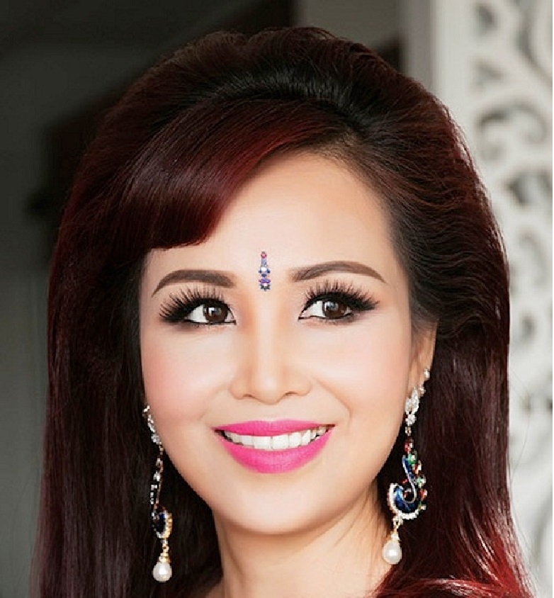 Hoa hậu Việt Nam Nguyễn Diệu Hoa