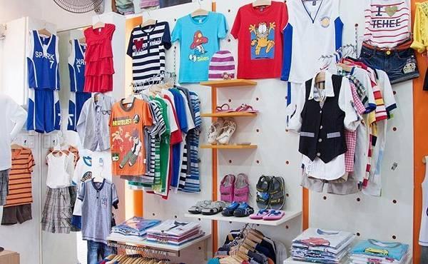 Quần áo trẻ em đa dạng phong phú