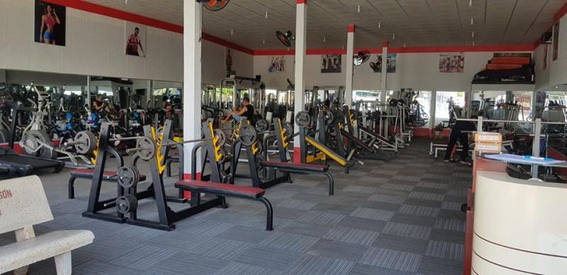 Không gian bên trong Nguyễn Gym