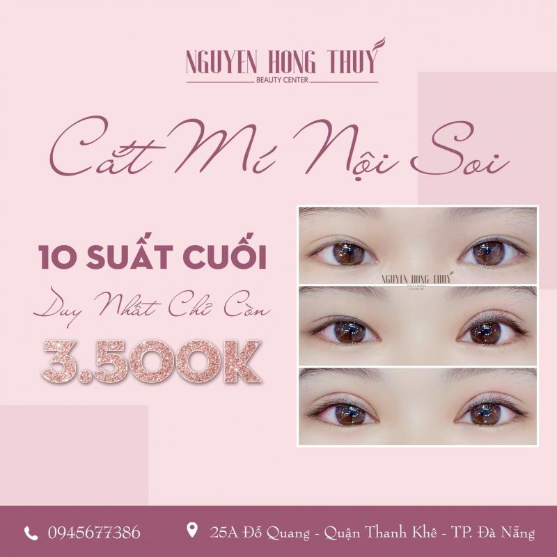 Giá nhấn mí tại Nguyễn Hồng Thúy center hợp với túi tiền nhiều chị em.