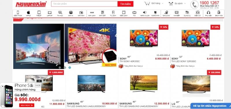 Website của Nguyễn Kim