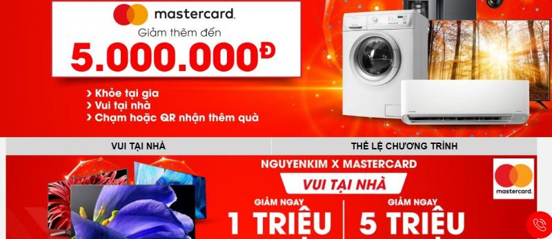 Nguyễn Kim - Vì cộng đồng vui khỏe x Mastercard
