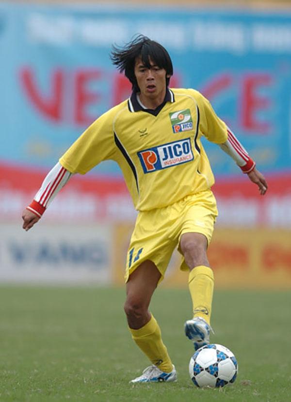 Cựu tuyển thủ Sông Lam Nghệ An Nguyễn Lâm Tấn.