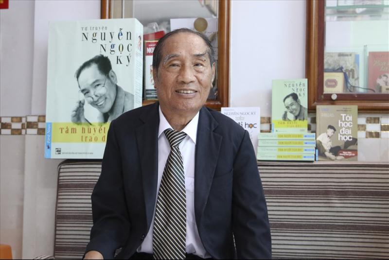 Thầy giáo Nguyễn Ngọc Ký là người truyền nghị lực cho Trí