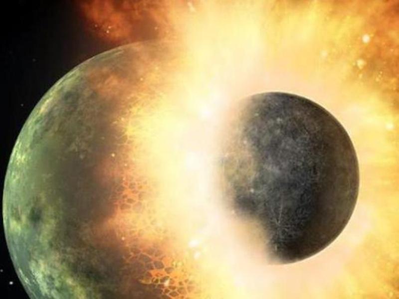 Nguyên nhân hình thành Mặt trăng