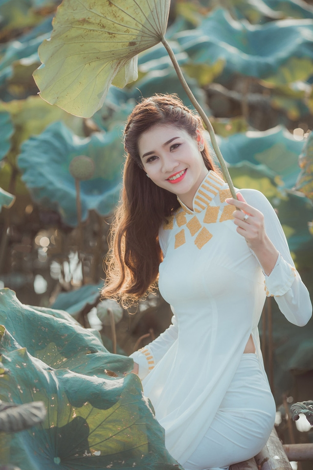 Nụ cười tươi tắn của Phương Thảo