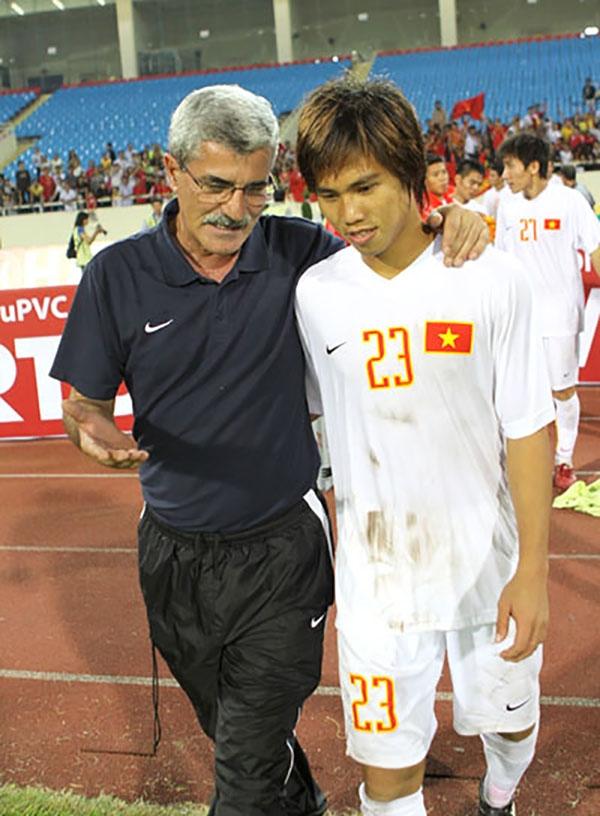 Cựu tuyển thủ U23 Nguyễn Thành Long Giang.