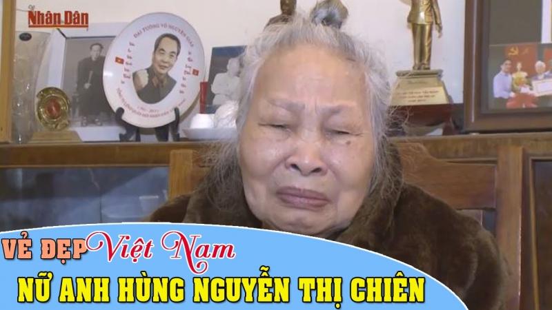 Bà là nữ anh hùng đầu tiên của quân đội nhân dân Việt Nam.
