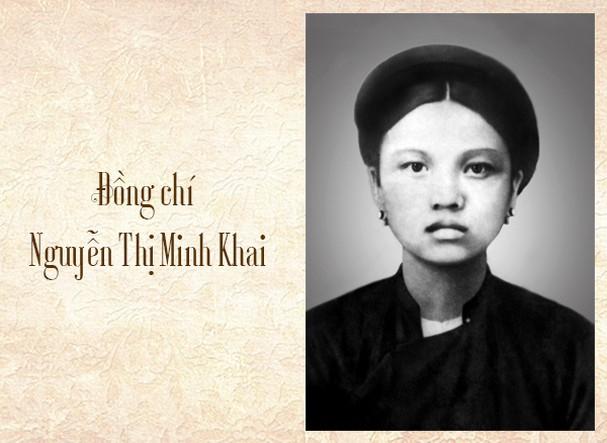 Nguyễn Thị Minh Khai - Nữ chiến sĩ cộng sản Vệt Nam đầu tiên