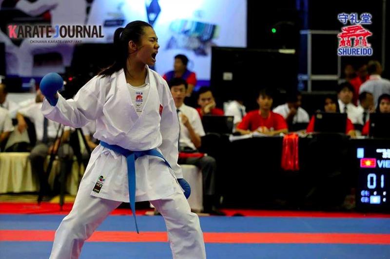 Niềm hi vọng vàng của Karatedo Việt Nam
