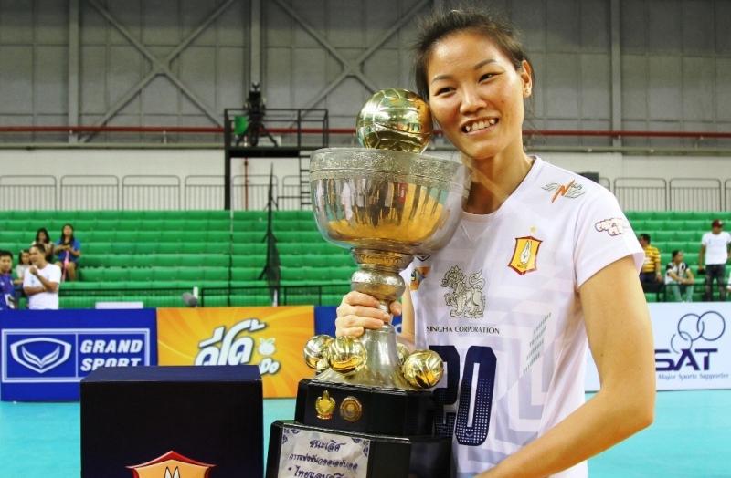 Danh hiệu vô địch bóng chuyền Thái Lan của Ngọc Hoa