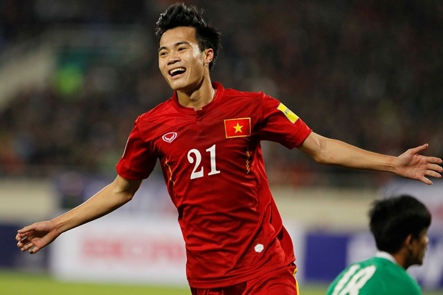 Văn Toàn đã trưởng thành vượt bậc trong màu áo tuyển quốc gia Việt Nam.