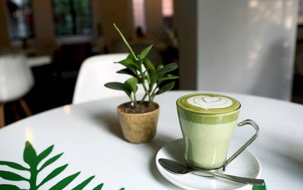 Latte matcha - một trong những món đồ uống được yêu thích