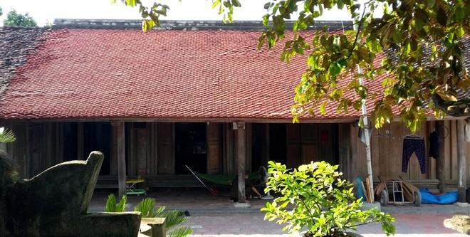 Ngôi nhà cổ của gia đình ông Phạm Ngọc Tùng (Thanh Hóa)