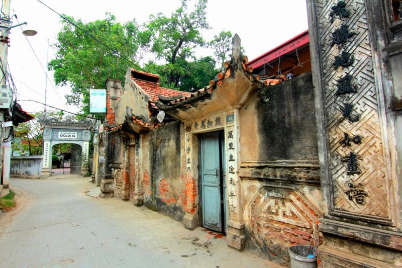 Một góc của làng cổ Cự Đà