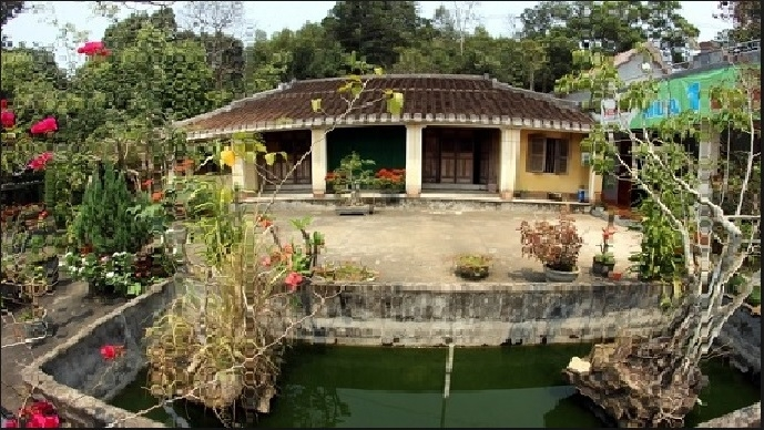 Ngôi nhà cổ gần 200 tuổi của ông Nguyễn Đình Hoan